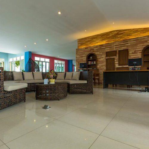 Royal Phala Cliff Beach Resort & Spa : Lobby